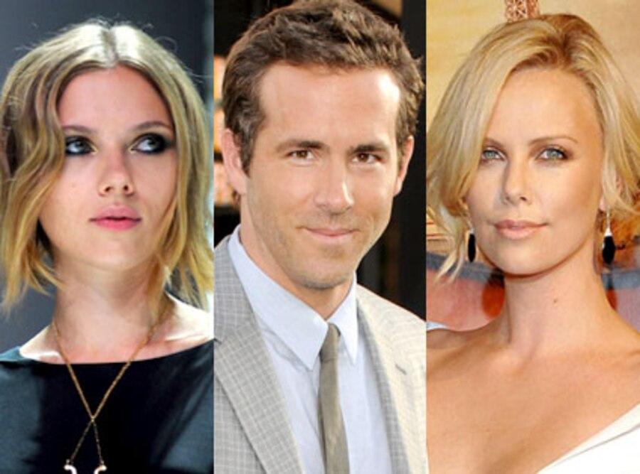 Scarlett Johansson, Ryan Reynolds, Charlize Theron