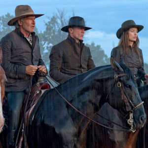 Daniel Craig, Harrison Ford, Olivia Wilde, Cowboys and Aliens