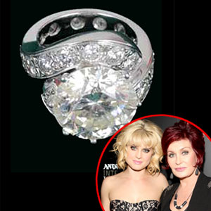 Kelly Osbourne, Sharon Osbourne, Shazza Dazzla Ring