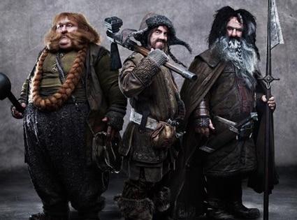 Stephen Hunter, James Nesbitt, William Kircher, The Hobbit