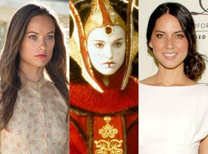 Olivia Wilde, Cowboys and Aliens, Natalie Portman, Star Wars, Olivia Munn