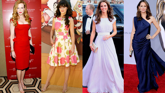 Nicole Kidman, Zooey Deschanel, Catherine, Duchess of Cambridge, Kate Middleton, Jennifer Garner