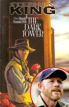 Dark Tower Book Cover, Ron Howard