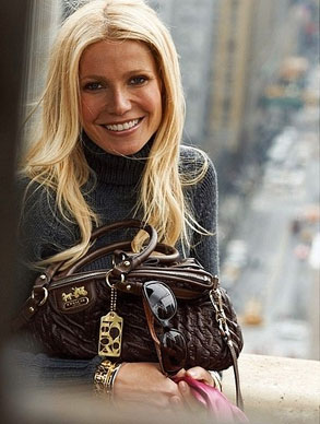 Gywneth Paltrow, Coach Ad