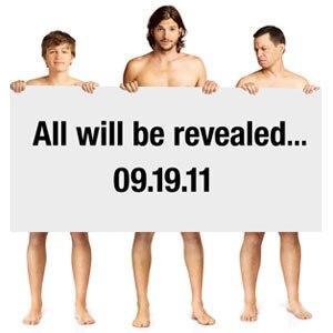 Two and Half Men, Ashton Kutcher, Jon Cryer, Angus T. Jones