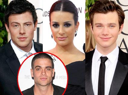 Cory Monteith, Lea Michele, Chris Colfer, Mark Salling
