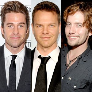 Scott Speedman, Jim Parrack, Jackson Rathbone
