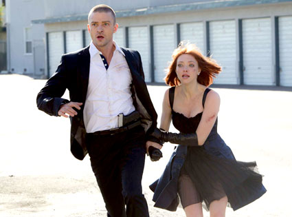 Justin Timberlake, Amanda Seyfried, In Time