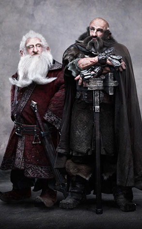 Ken Stott, Graham McTavish, The Hobbit an Unexpected Journey