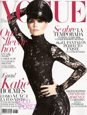 Katie Holmes, Vogue Spain