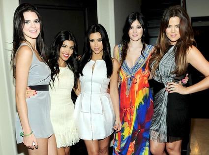 Kendall Jenner, Kourtney Kardashian, Kim Kardashian, Kylie Jenner, Khloe Kardashian Odom