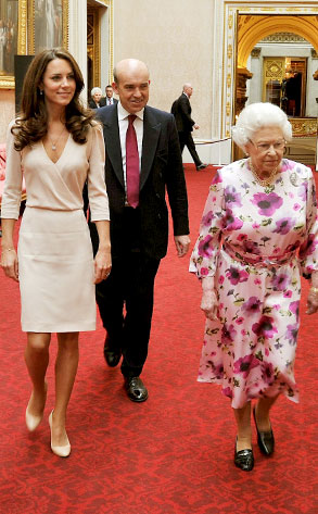 Queen Elizabeth II, Catherine, Duchess of Cambridge, Kate Middleton