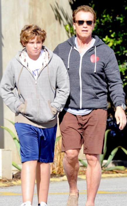 Christopher Schwarzenegger, Arnold Schwarzenegger