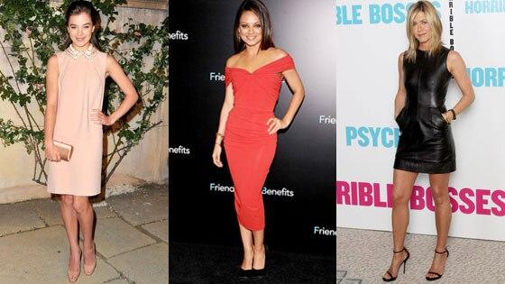 Hailee Steinfeld, Mila Kunis, Jennifer Aniston