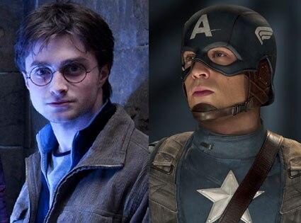 Harry Potter, Captain America
