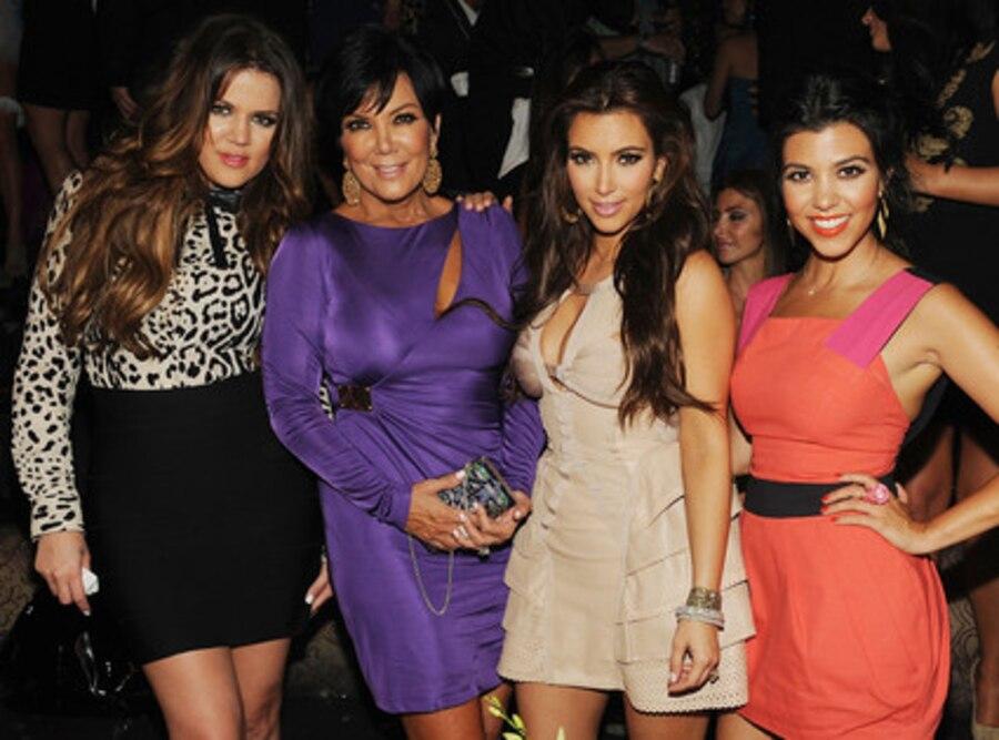 Khloe Kardashian, Kim Kardashian, Kourtney Kardashian, Kris Jenner
