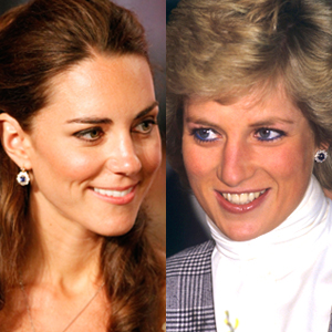 Duchess Catherine, Princess Diana