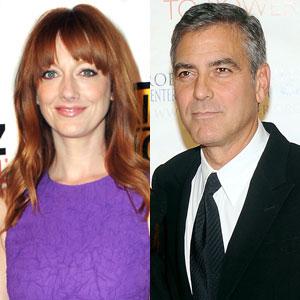Judy Greer, George Clooney