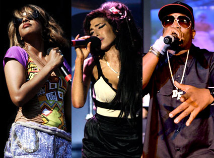 M.I.A., Big Boi, Amy Winehouse
