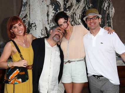 Allison Scagliotti, Saul Rubink, Joanne Kelly, Eddie McClintock, Comic-Con