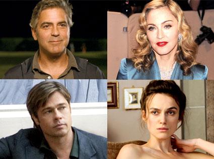 The Descendants, George Clooney, Madonna, Brad Pitt, Moneyball, Keira Knightley, Dangerous Method, Toronto Film Festival