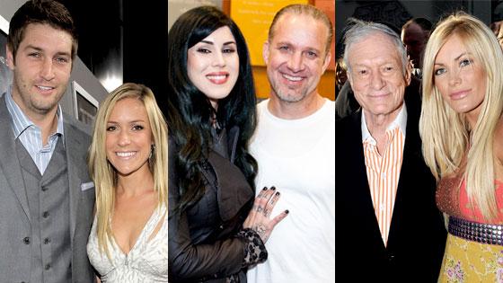 Kristin Cavallari, Jay Cutler, Jesse James, Kat Von D, Hugh Hefner, Crystal Harris
