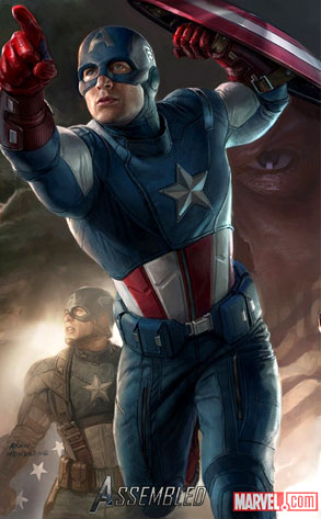 Captain America, The Avengers