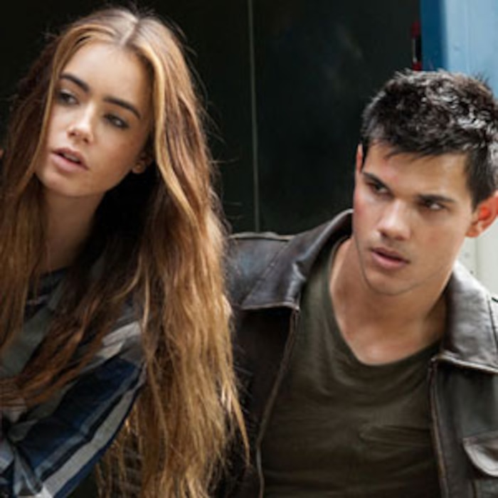 Taylor Lautner, Lily Collins, Abduction
