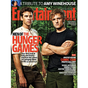 Hunger Gamers, Entertainment Weekly, Josh Hutcherson,  Liam Hemsworth
