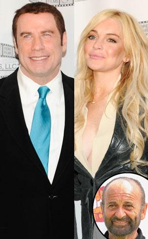 Joe Pesci, Lindsay Lohan, John Travolta