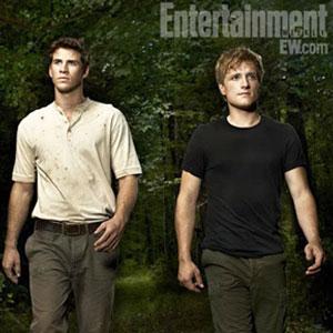 EW, Liam Hemsworth, Josh Hutcherson, Hunger Games
