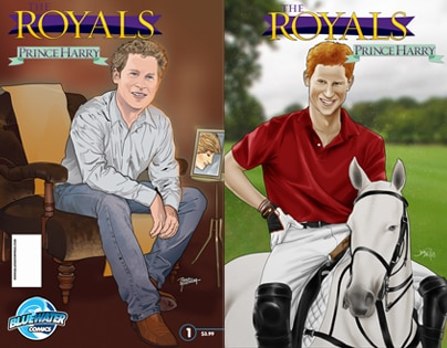 Prince Harry, Comic Book