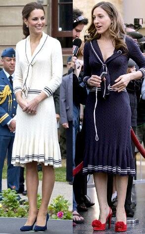 Kate Middleton, Sarah Jessica Parker
