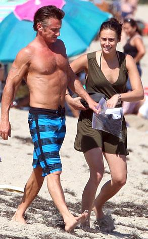 Sean Penn, Stacey Koplin