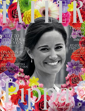 Pippa Middleton, Tatler Cover