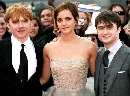 Rupert Grint, Emma Watson, Daniel Radcliffe