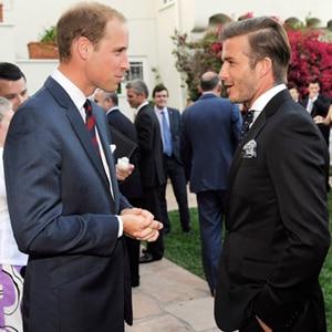 Prince William, David Beckham