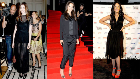 Katie Holmes, Jennifer Hudson, Anne Hathaway