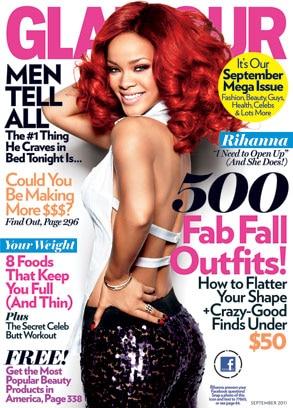 Rihanna, Glamour Cover