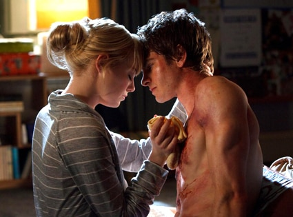 The Amazing Spiderman, Andrew Garfield, Emma Stone