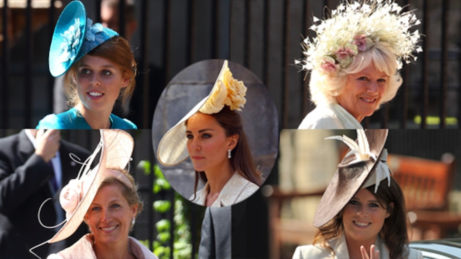 Kate Middleton, Duchess Catherine, Princess Beatrice, Camilla Parker-Bowles, Sophie Rhys-Jones, Princess Eugenie