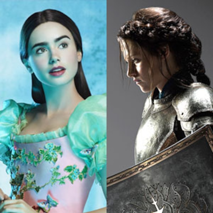 The Brothers Grimm: Snow White, Lily Collins, Snow White and the Huntsman, Kristen Stewart