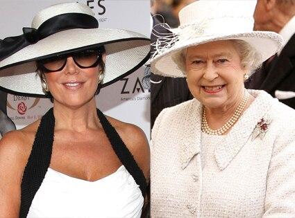 Kris Jenner, Queen Elizabeth