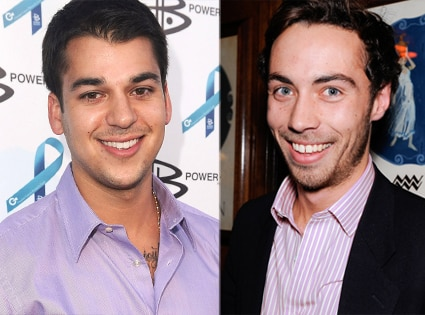 Robert Kardashian, James Middleton