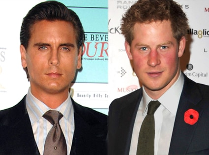 Scott Disick, Prince Harry