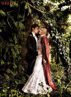 Vogue, Kate Moss, Jamie Hince