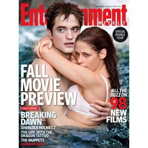 Entertainment Weekly, Robert Pattinson, Kristen Stewart