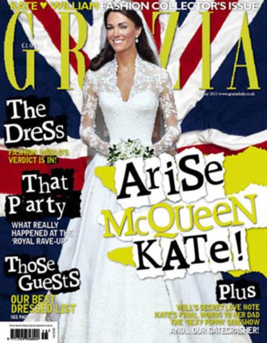 Grazia, Kate Middleton