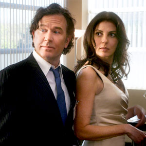 Leverage, Timothy Hutton, Gina Bellman