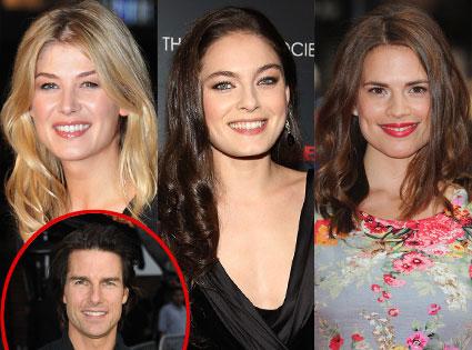 Alexa Davalos, Rosamund Pike, Hayley Atwell, Tom Cruise